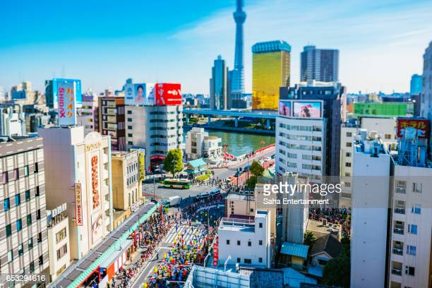 Tokyo Marathon Diorama