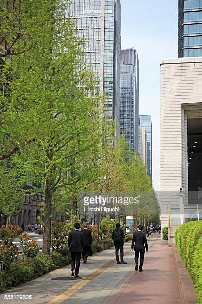 Tokyo, Marunouchi Business District