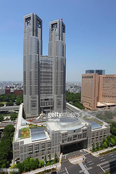 東京都庁 - 東京都庁舎 ストックフォトと画像