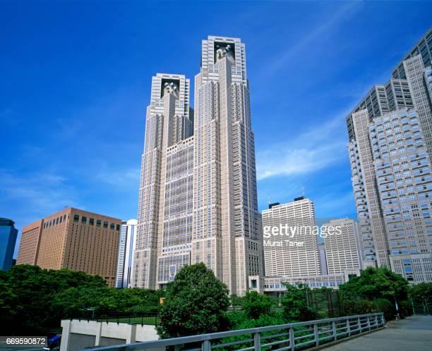 tokyo metropolitan government building (tocho) - 地方庁舎 ストックフォトと画像