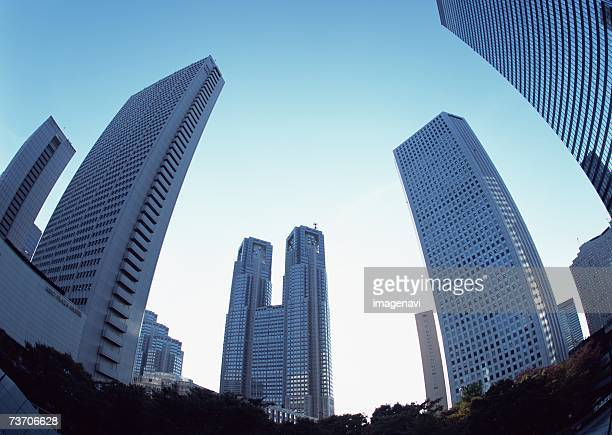 Tokyo Metropolitan Government Buildings and office towers