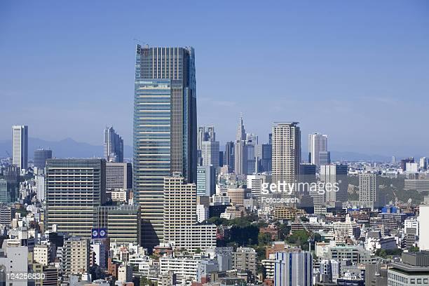 tokyo mid town - kanto region - fotografias e filmes do acervo