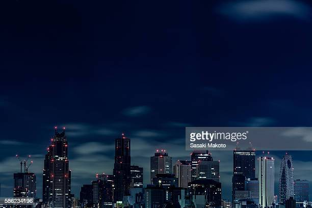 Tokyo midnight view