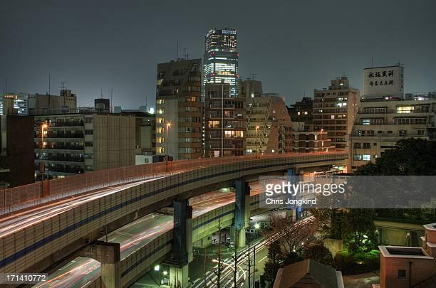 Tokyo Midtown and Expressway