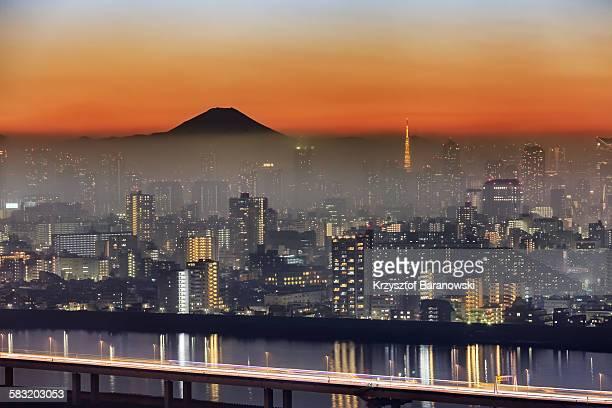 Tokyo Mt Fuji Fog