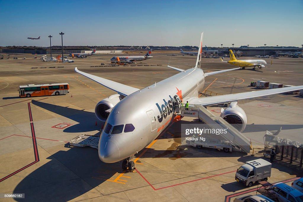 Tokyo Narita Airport Terminal 3 : Stock Photo