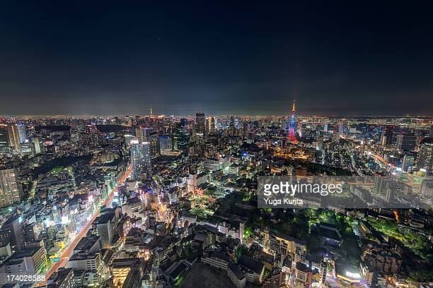 Tokyo Night Scene from Roppongi