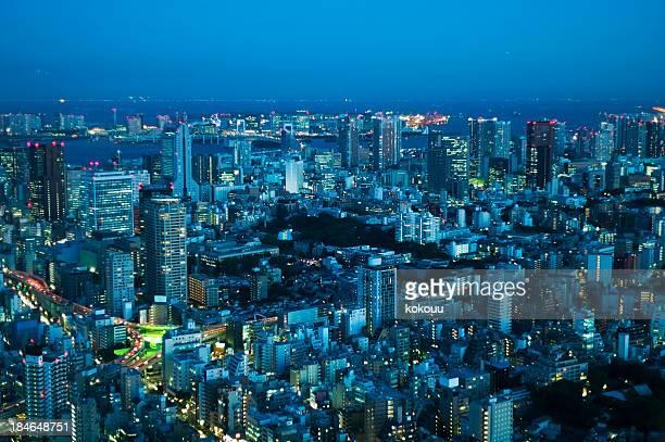 東京の夜の眺め