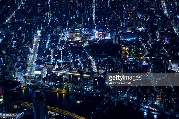 Tokyo Nightview / Asakusa