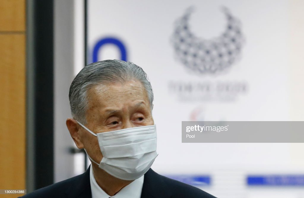 Tokyo 2020 President Mori Apologises For Sexist Remarks : ニュース写真