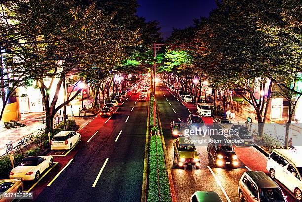 Tokyo, Omotesando Hills at night