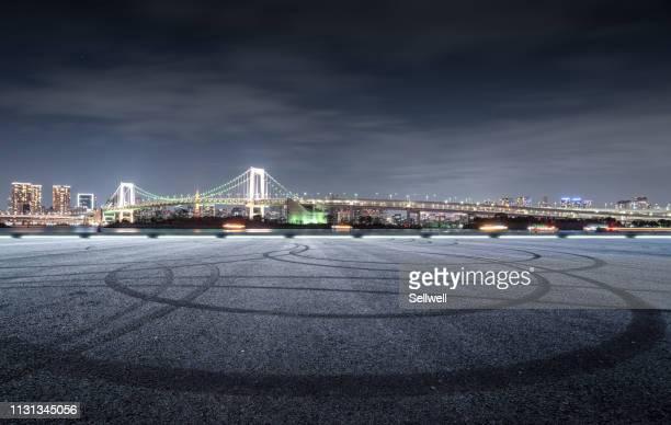 tokyo rainbow bridge - ウォーターフロント ストックフォトと画像