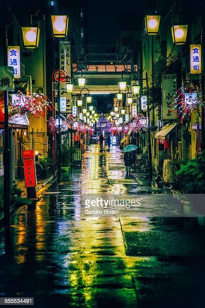 Tokyo Rainy Streets at night