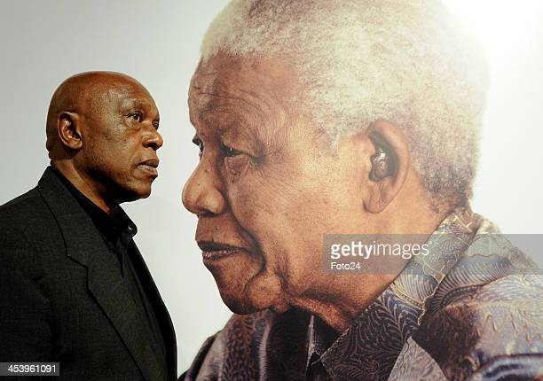 Tokyo Sexwale speaks about his memories of former President Nelson Mandela on December 6 2013 in Johannesburg South Africa Mourners have been...