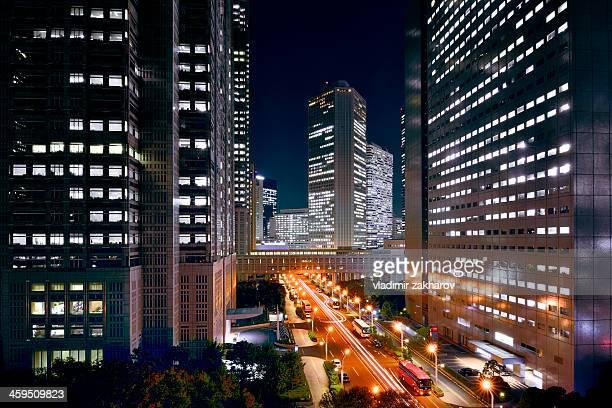 Tokyo Shinjuku at night