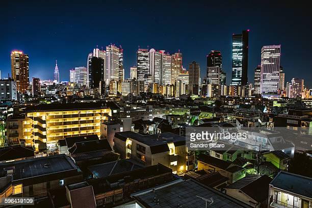 Tokyo Shinjuku Skyline at night