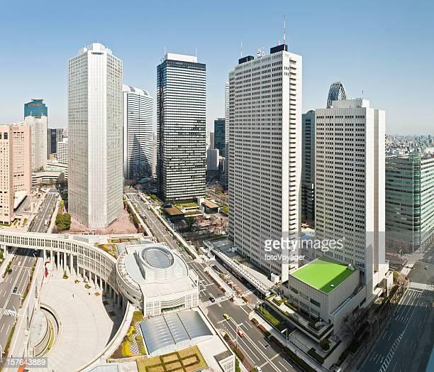 新宿ビジネス街、東京の高層ビルの高層ホテルキャピタルシティー日本