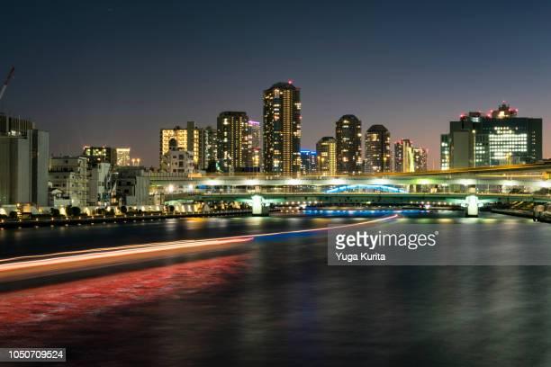 Tokyo Skyline over the River