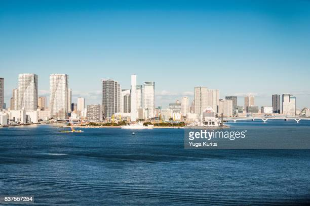 Tokyo Skyline over the Tokyo Bay