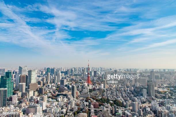 東京の街並み - 町 ストックフォトと画像