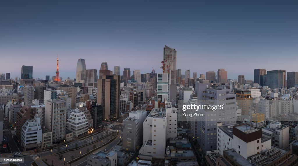 Tokyo Skyline : Stock-Foto