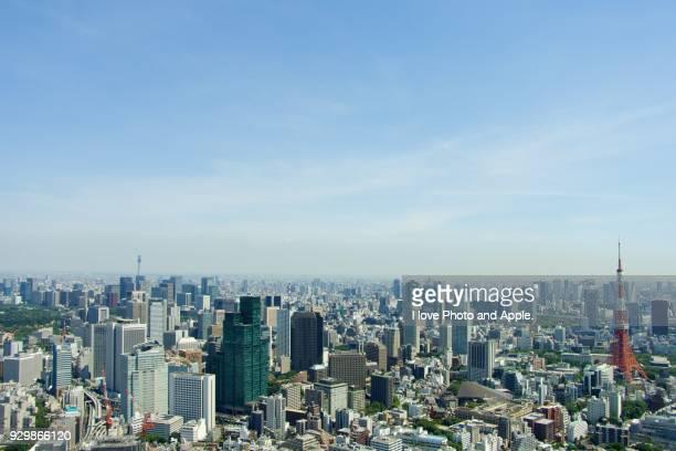 Tokyo skyline view from Roppongi