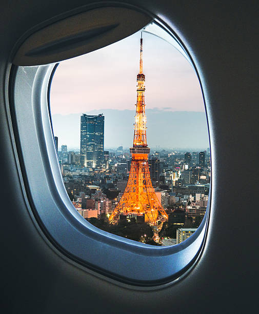 Tokyo Skyline With The Tokyo Tower Wall Art