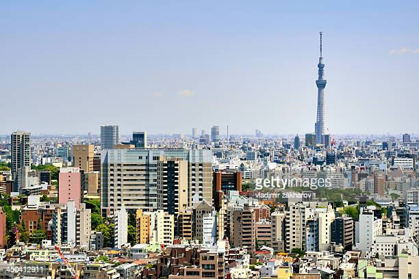 Tokyo Skytree and city
