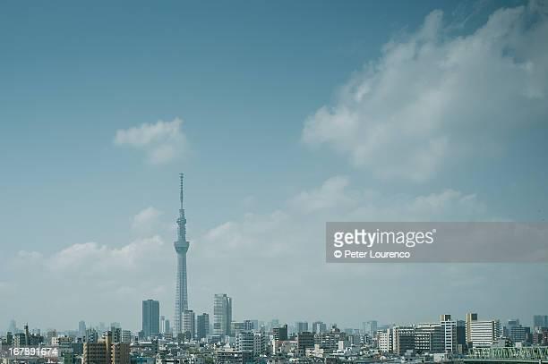 tokyo skytree - peter lourenco photos et images de collection