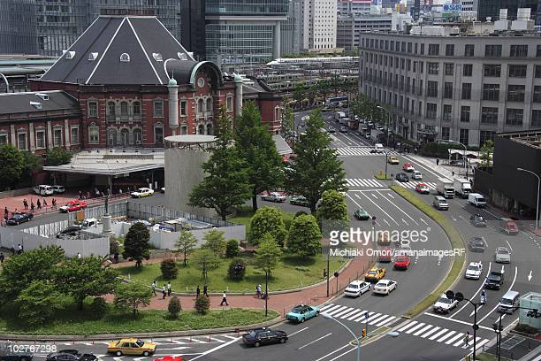 Tokyo Station, Chiyoda Ward, Tokyo, Japan.