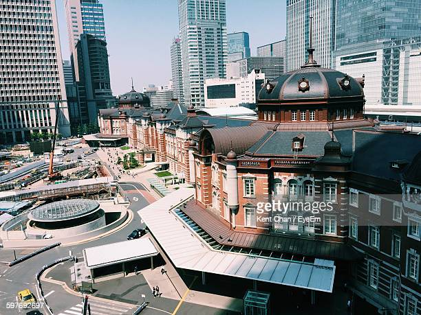 Tokyo Station In City
