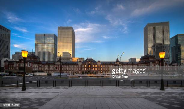 tokyo station - nee nee stock pictures, royalty-free photos & images