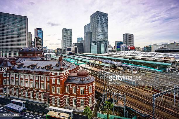 JR Tokyo Station Railways in Tokyo Japan