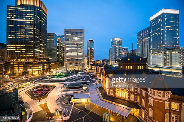 東京駅の眺め