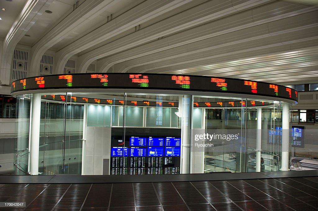 Tokyo Stock Exchange : Stock Photo