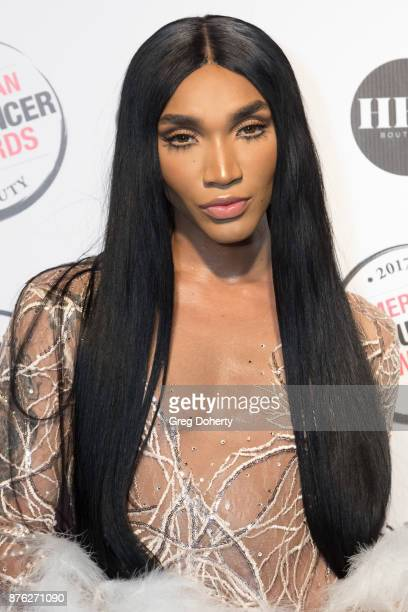 Tokyo Stylez attends the American Influencer Award at The Novo by Microsoft on November 18 2017 in Los Angeles California
