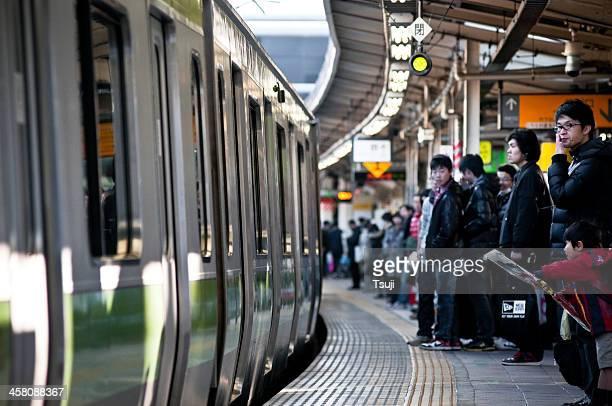 東京の地下鉄駅 - 鉄道駅 ストックフォトと画像