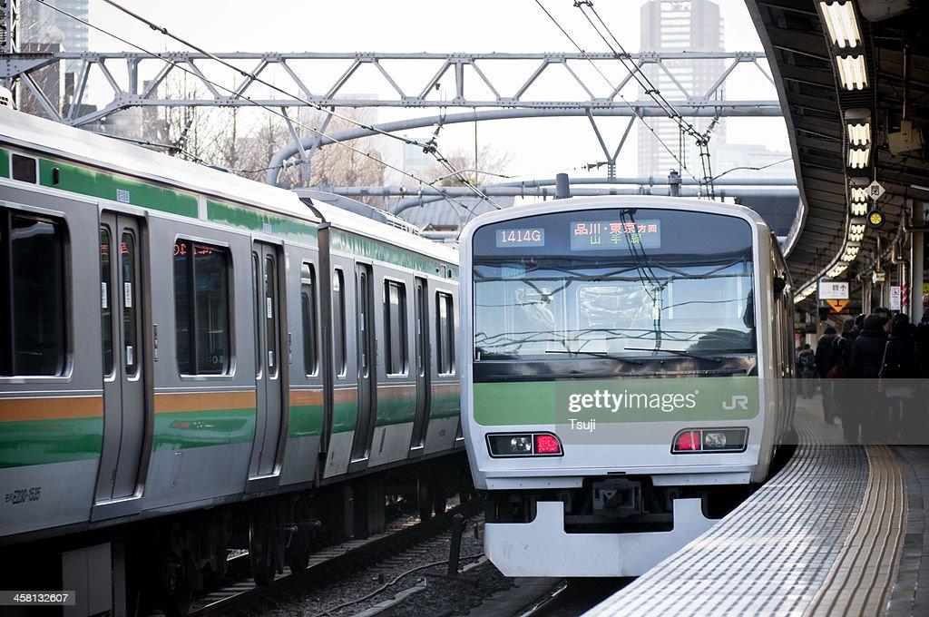 Tokyo subway station : Stock Photo