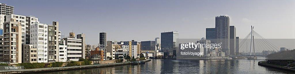 Tokyo Sumidagawa Riverside High Rises Apartments Homes Real Estate Japan High Res Stock Photo Getty Images