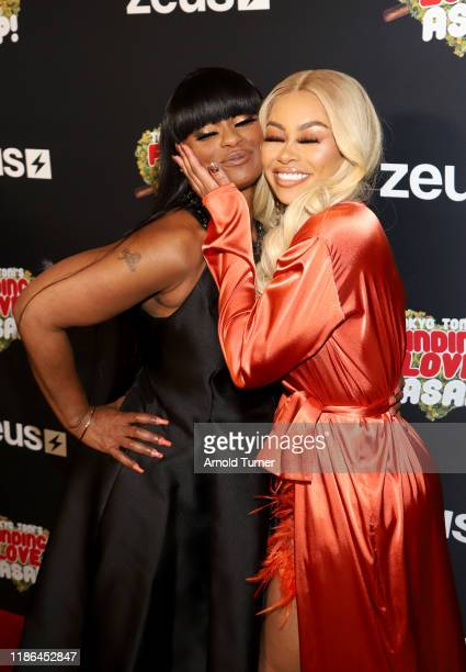 Tokyo Toni and Blac Chyna attend Tokyo Toni's Finding Love ASAP Los Angeles premiere at AMC Theaters Universal City Walk on November 08 2019 in...