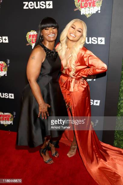 Tokyo Toni and Blac Chyna attend Tokyo Toni's Finding Love ASAP Zeus Network Los Angeles Premiere at AMC Theaters Universal City Walk on November 08...