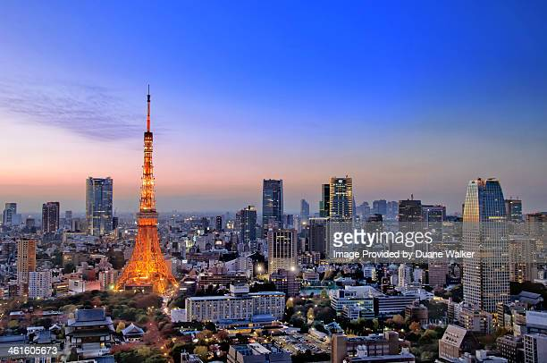 Tokyo Tower After Sunset