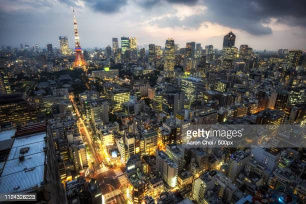 Tokyo Tower City View
