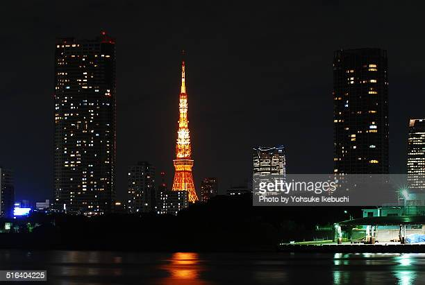 Tokyo Tower from Kachidoki