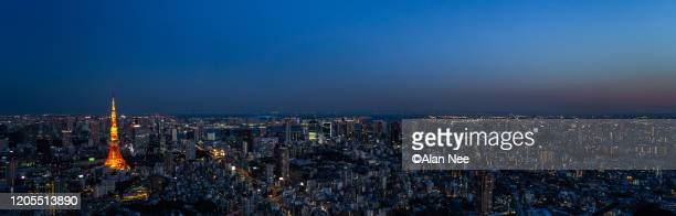 tokyo tower - nee nee stock pictures, royalty-free photos & images