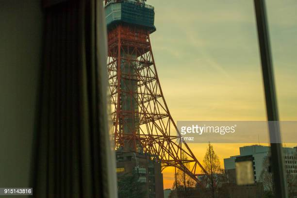Tokyo Tower seen from the room