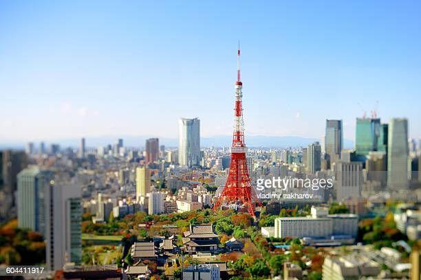Tokyo view  at sunny day