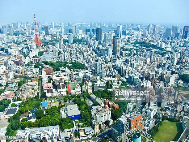 Tokyo views from Roppongi hills