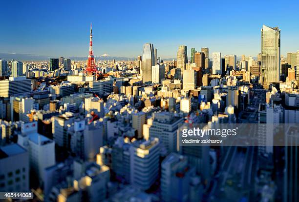 Tokyo vista at sunrise