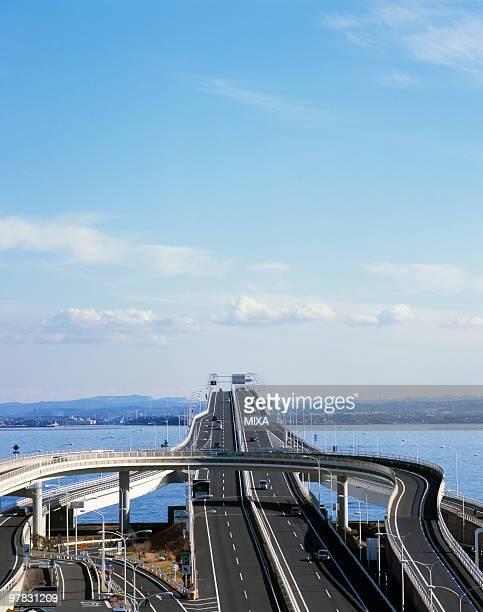 Tokyo Wan Aqua Line Expressway, Kisarazu, Chiba, Japan